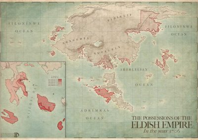The Possessions of the Eldish Empire