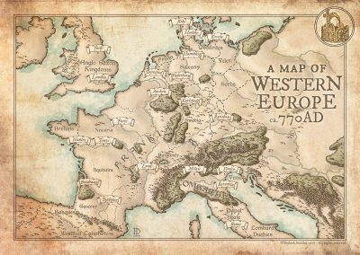 Western Europe 770 AD