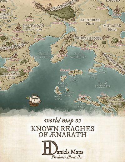 how to make a fantasy map in illustrator